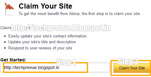 Alexa Claim Blog or Site - Image 1