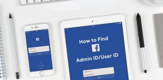 How to find Facebook admin id or user id