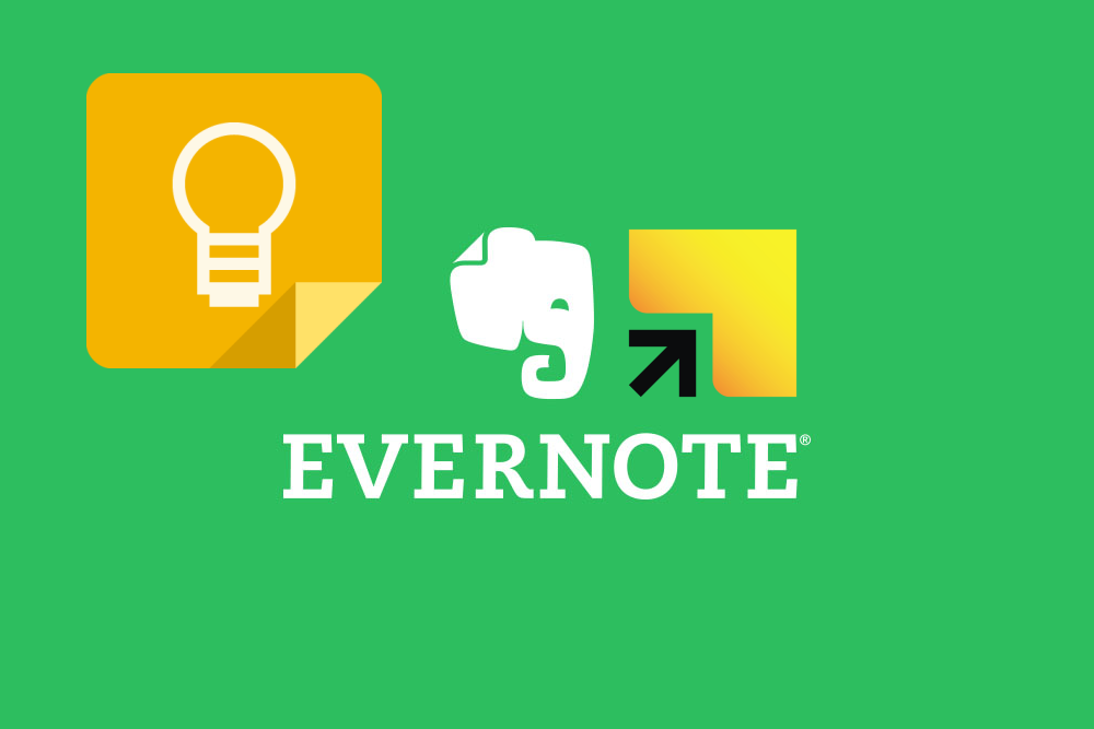 Google Keep, Evernote & Springpad