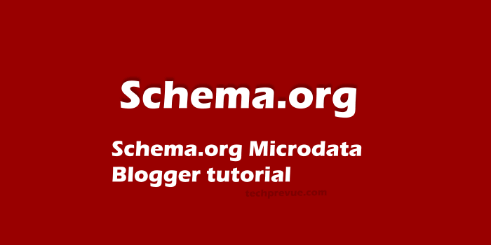 Schema.org Microdata for Blogger