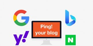 How to ping your blog to search engines