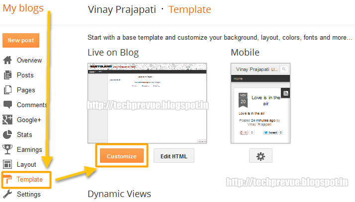 disable text selection blogger dynamic views