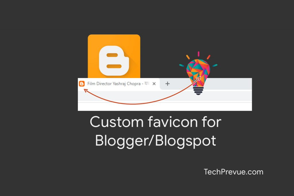 How to add custom favicon for Blogger or Blogspot