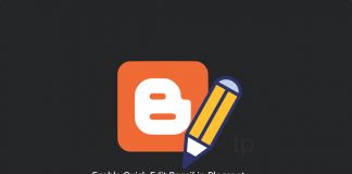 Enable quick edit pencil in Blogspot