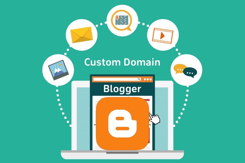 How to add Blogger custom domain