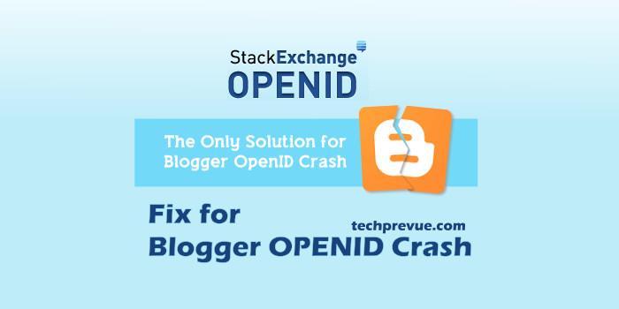 blogger openid resolved