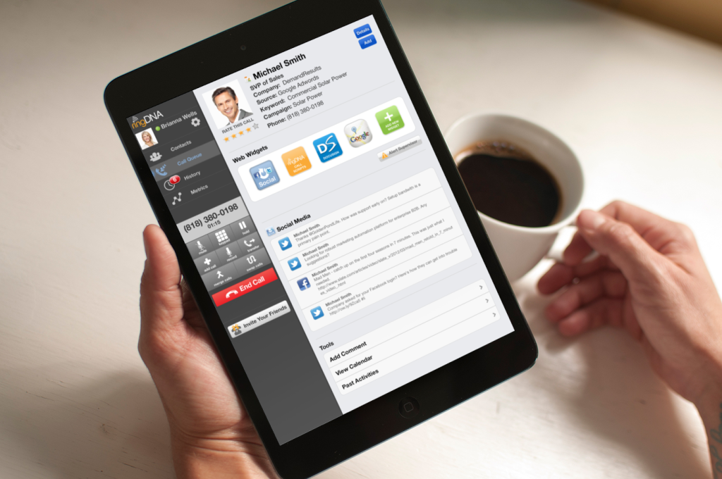 mobile crm applications