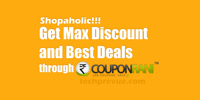 Couponrani get discount coupons