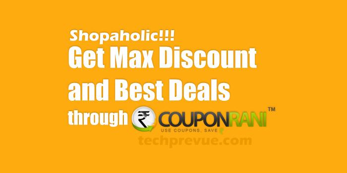 Couponrani get discount coupons