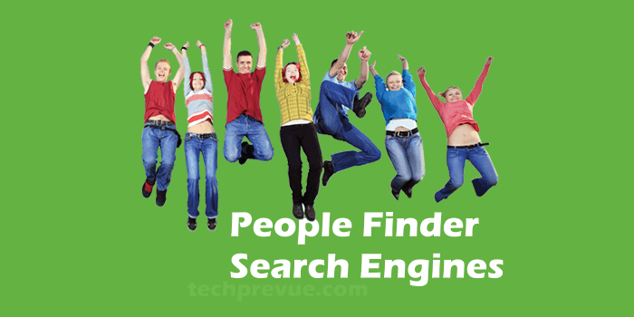 People finder search engines