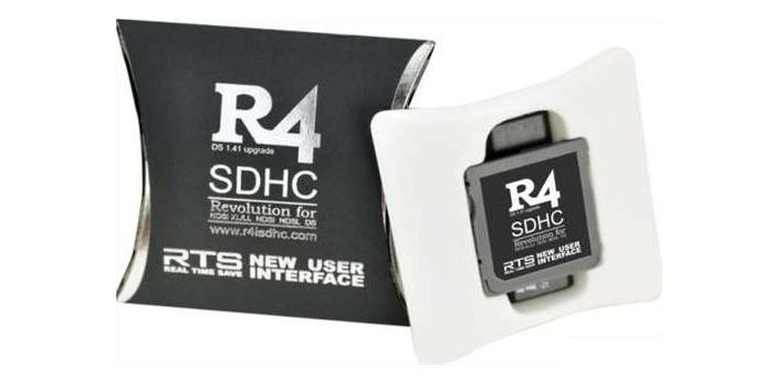 Download de nieuwste software voor de R4 DS en R4i kaarten