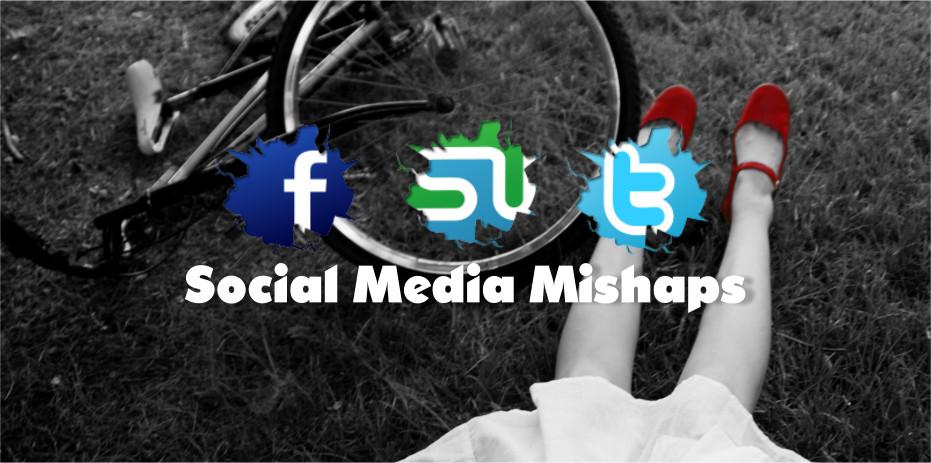social media mishaps