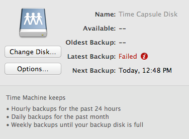 Restore mac data