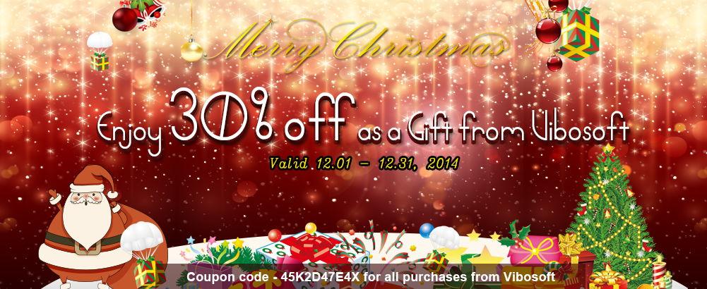 Vibosoft Christmas Offer