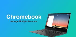Chromebook manage multiple accounts
