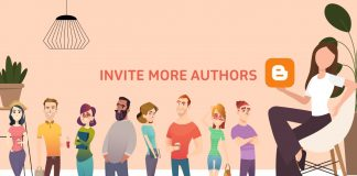 How to invite more authors on Blogspot Blogger