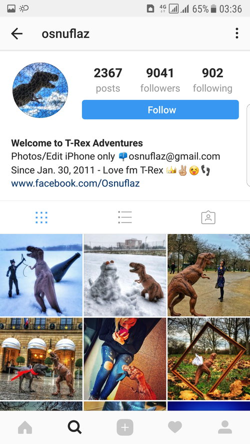 Personalize your Instagram theme