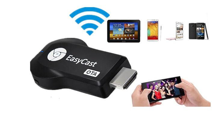 Review Easycast Ota Hdmi 1080p Tv Stick Miracast Dlna