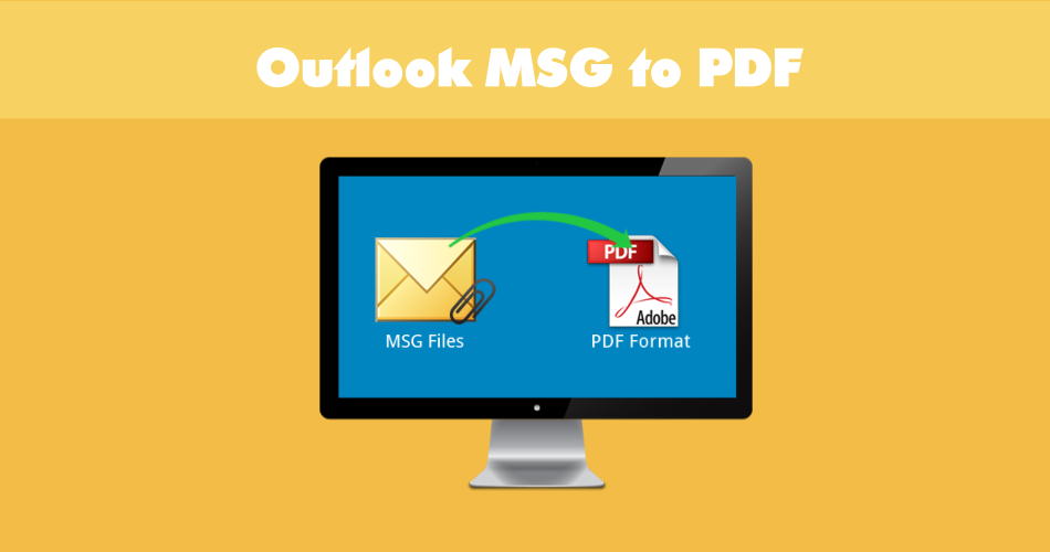 Outlook msg to pdf