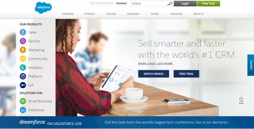 Cloud Computing, Customer Relationship Management, CRM - Salesforce