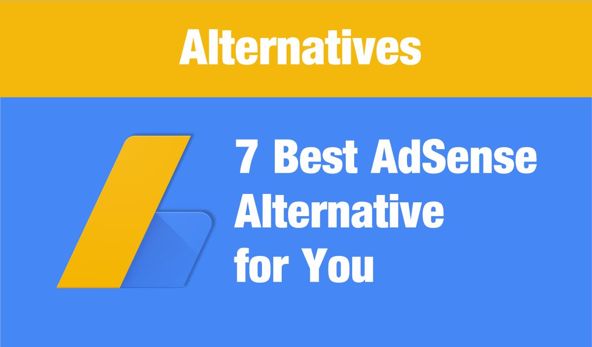 8 Best Google Adsense Alternatives For You