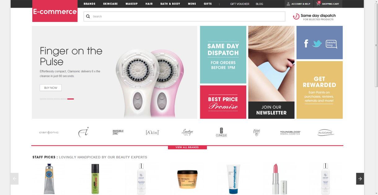 Best Ecommerce Websites Designs