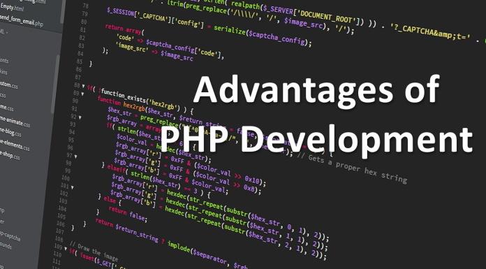 Php development advantages