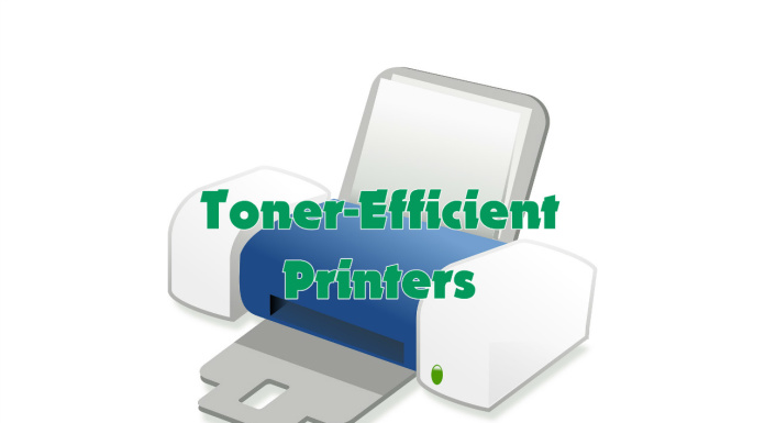 Toner efficient printers