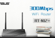 Asus RT-N12+ Wi-Fi Router300Mbps