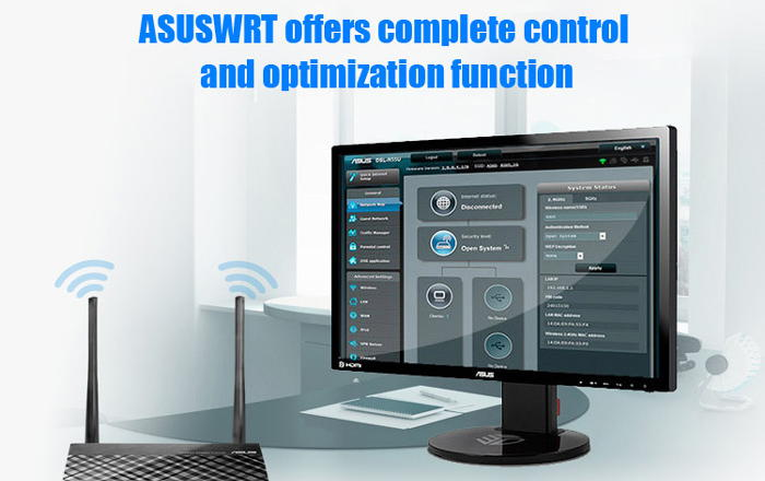 Asuswrt dashboard