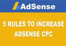 Increase AdSense CPC tips