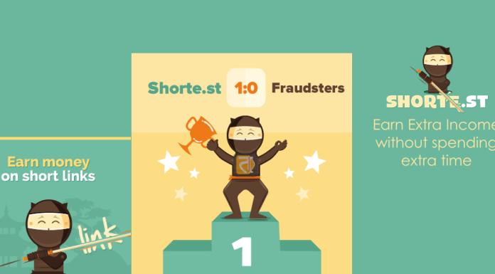 shorte.st earn money with short links