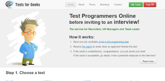 test for geeks