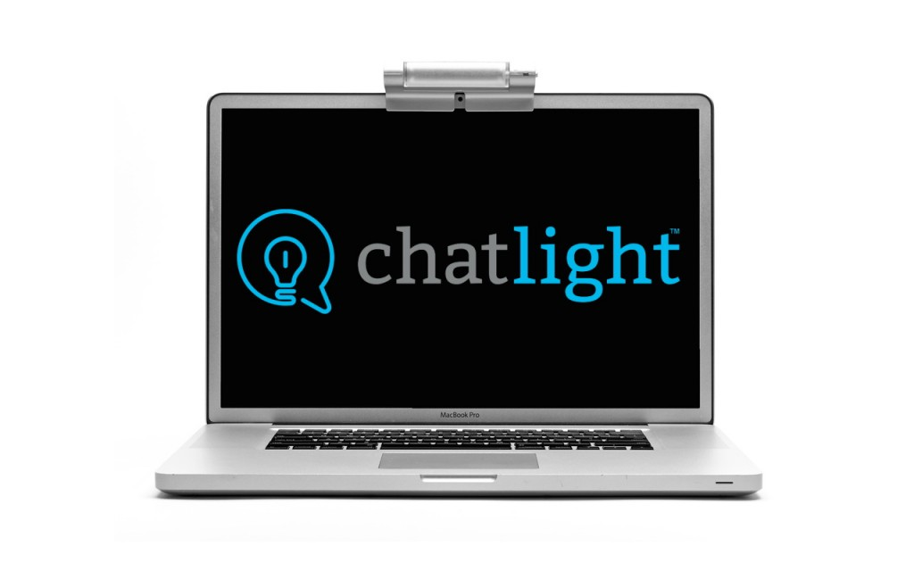 Chatlight webcam lighting