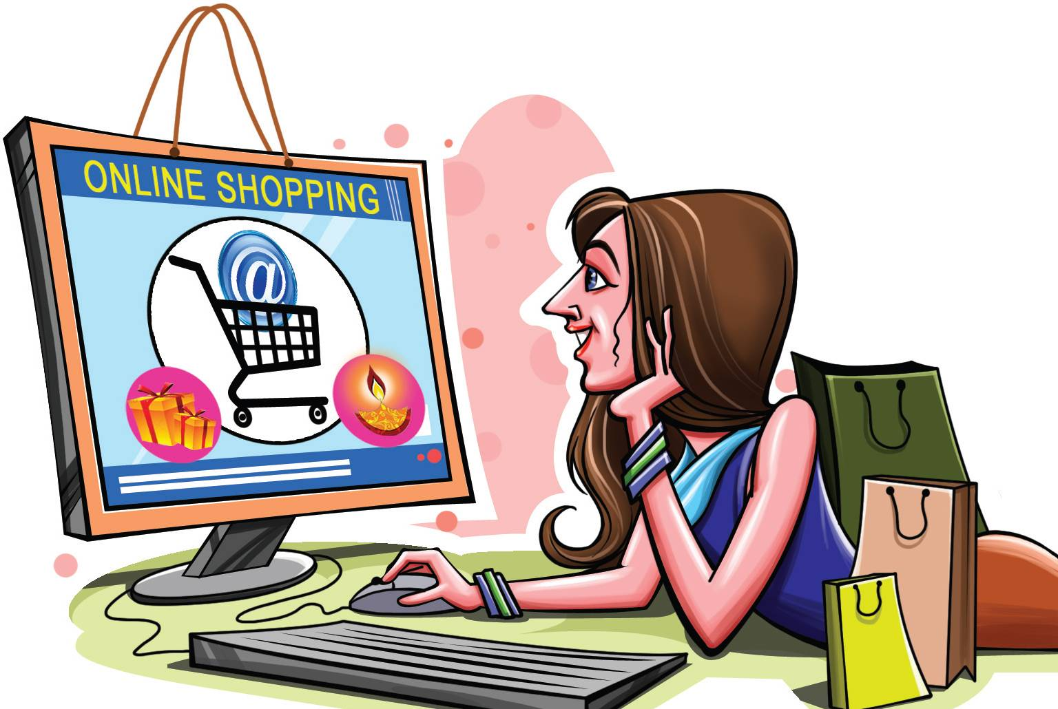 هو الحل tajmarka.com‎ Online-shopping-future-india