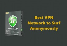 Best VPN Network to Surf Anonymously