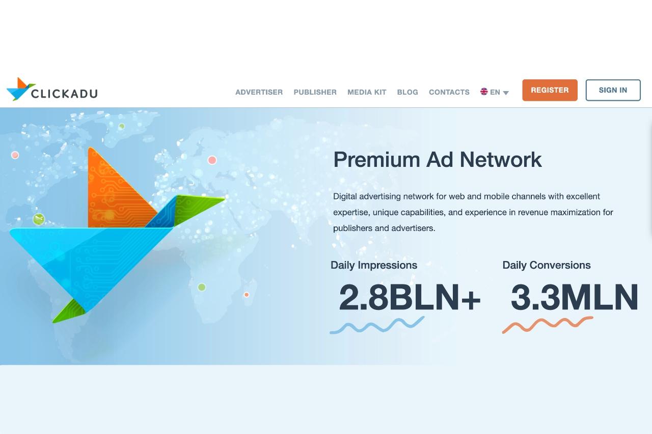 Clickadu Premium Ad Network