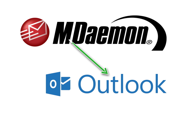 Import mdaemon emails to ms outlook