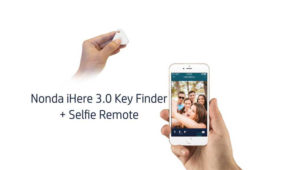 Nonda iHere 3.0 Car Key Finder - Selfie Remote