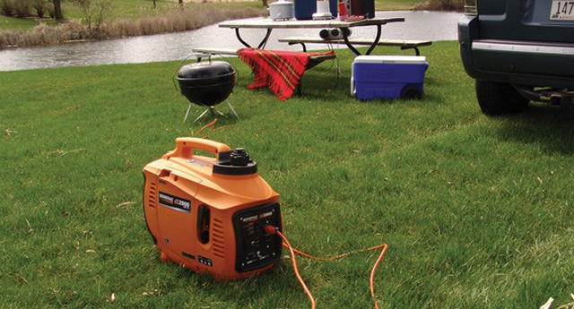 Portable generator for home