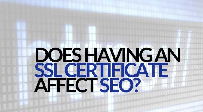SSL Certificate affects seoSSL Certificate affects seo