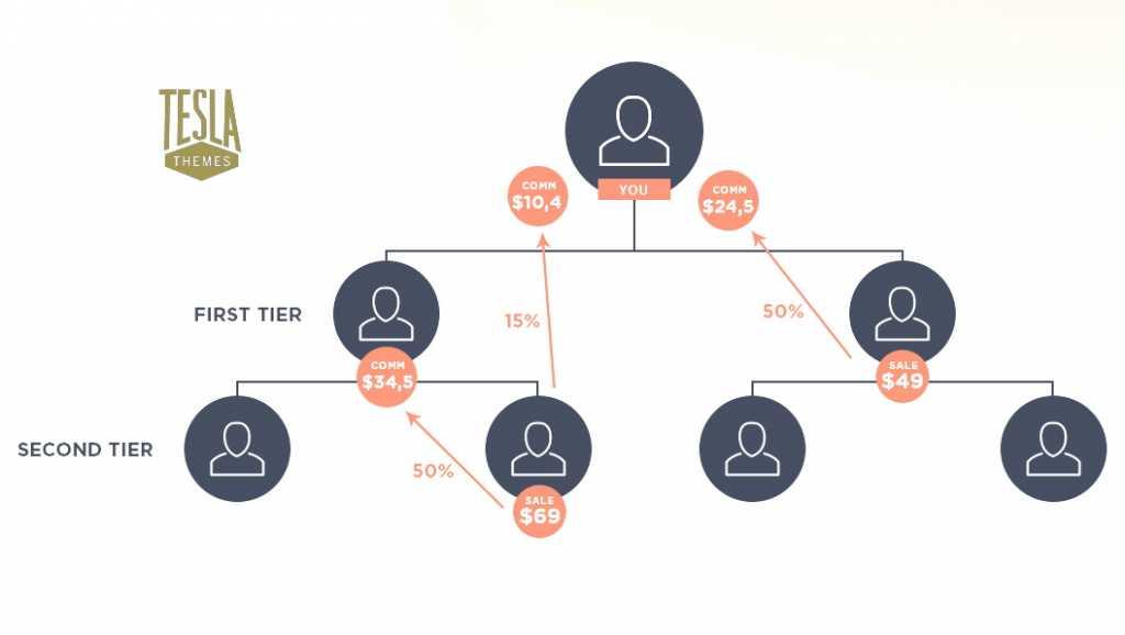 TeslaThemes affiliate second tire