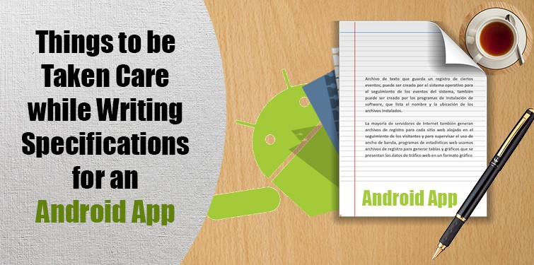 Android app specification