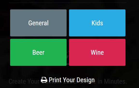 Print your unique labels design