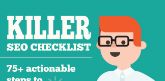 Effective seo checklist infographic