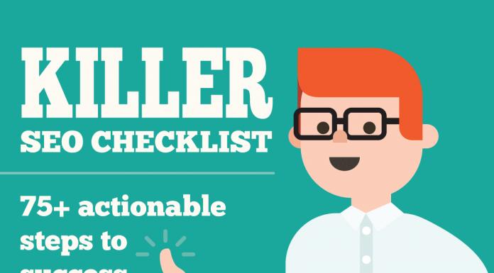 Effective seo checklist infographic