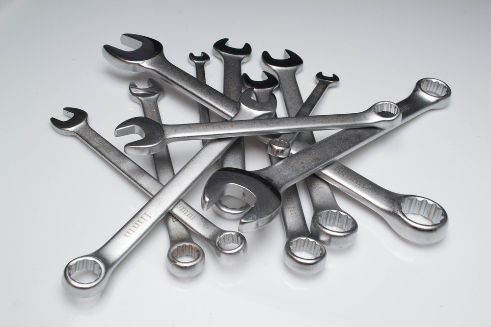 Car repair wrenches