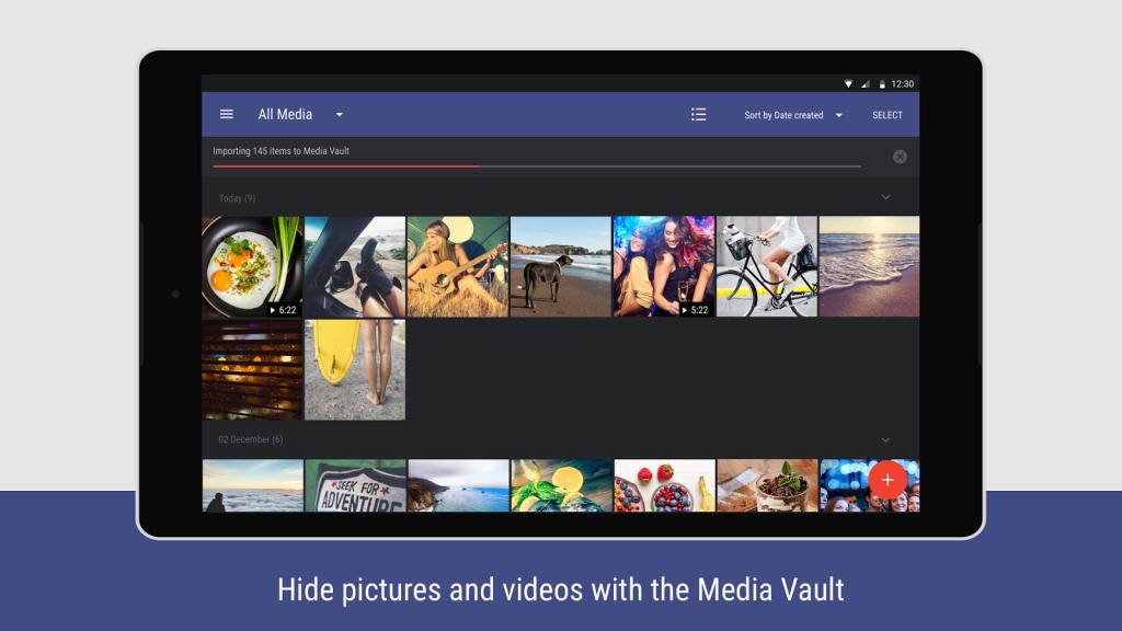 Hexlock media vault