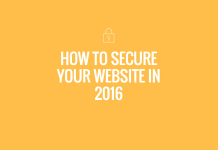 Secure Business Website