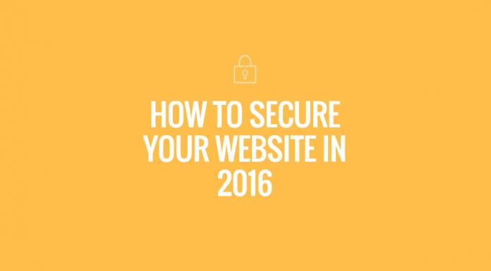 Secure Business Website